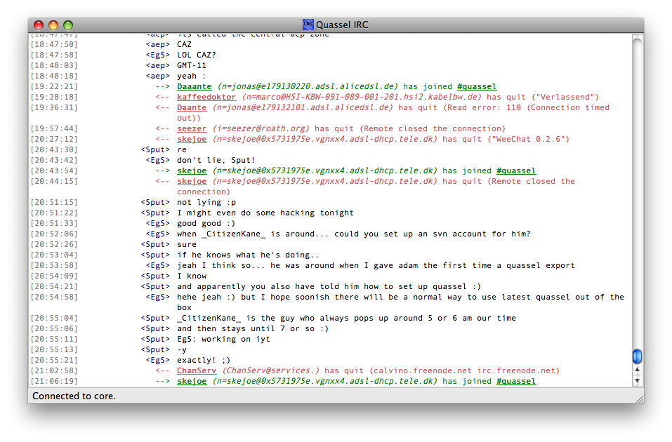 Slick Quassel on Mac